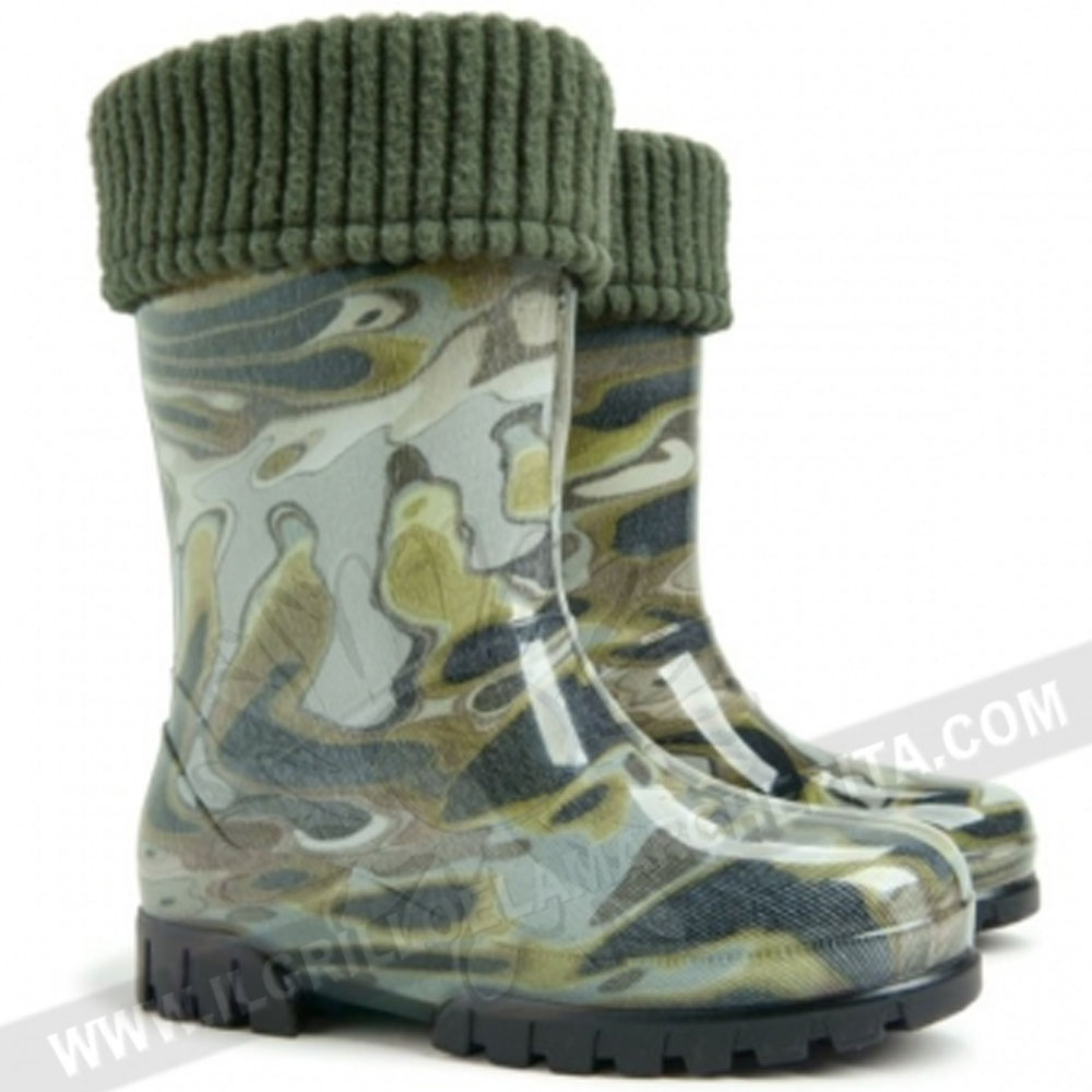 per bambini Demar Stormer Lux stivali di gomma imbottiti
